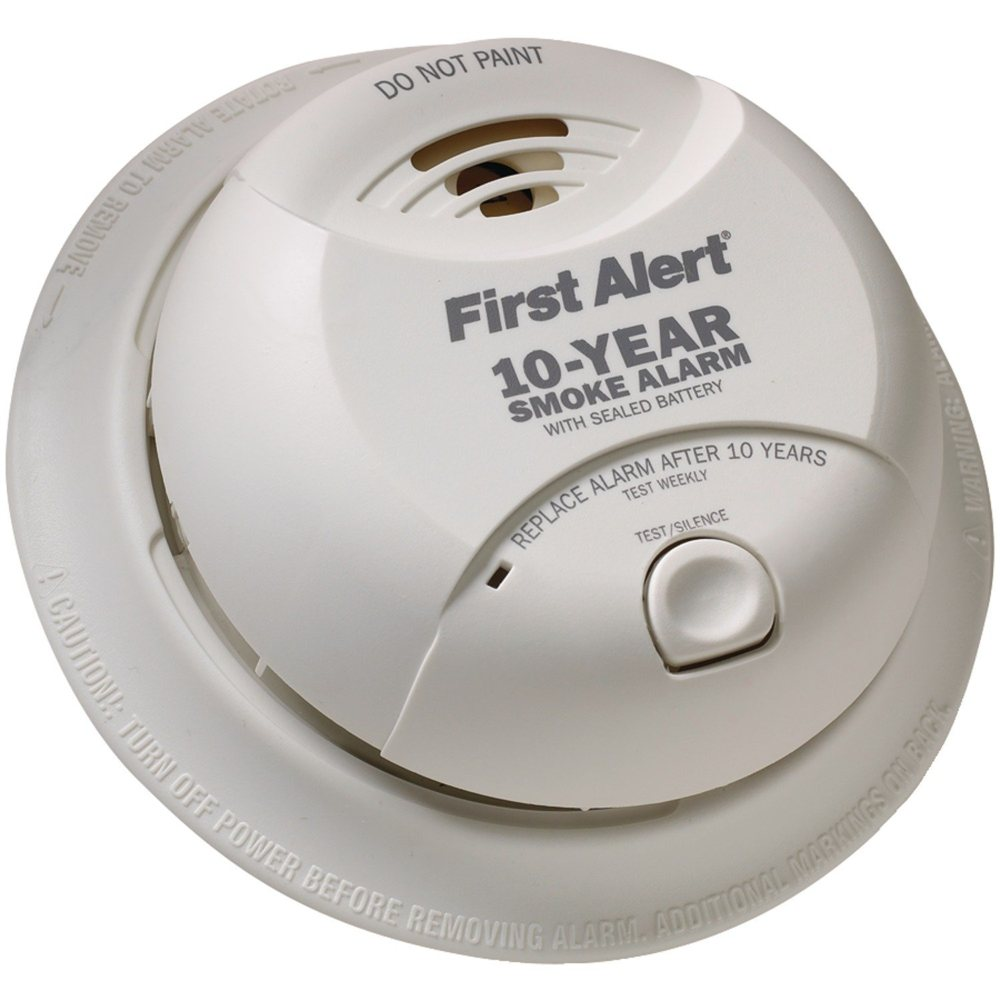 first alert sa340cn smoke alarm with lithium battery home improv. Black Bedroom Furniture Sets. Home Design Ideas