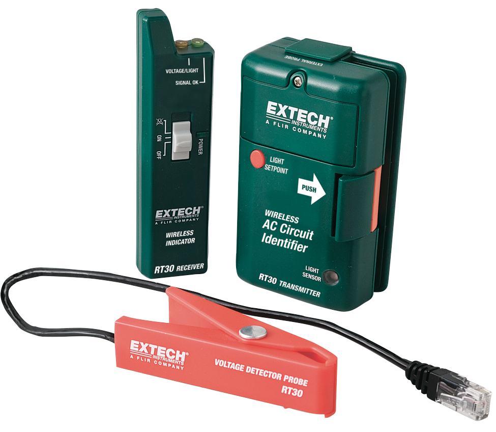 Extech Rt30 Wireless Ac Circuit Identifier With External