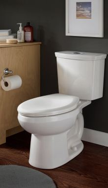 H2Option dual-flush right height elongated toilet
