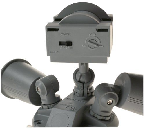 Heath Zenith SL-5408-GR 110-Degree Motion-Sensing Flood Security Light
