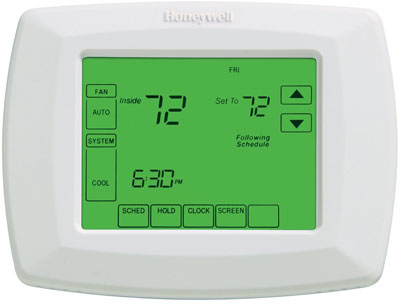 Honeywell Rth8500d 7 Day Touchscreen Programmable