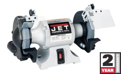 Jet 577101 6 Inch Industrial Bench Grinder Power Bench