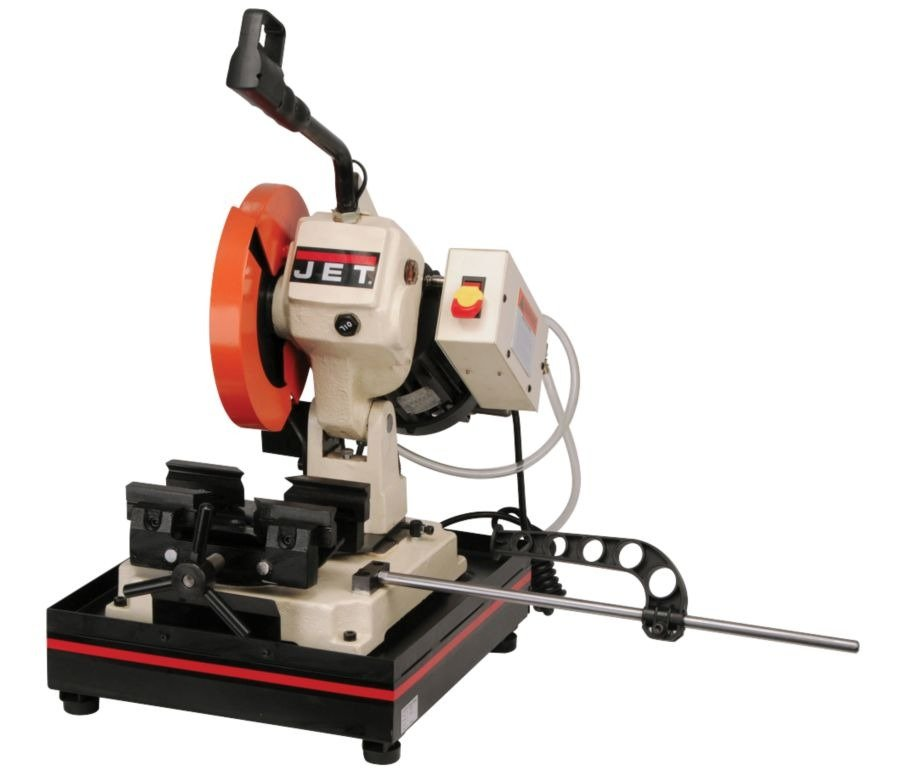 Jet J F225 1 Horsepower 115 Volt 225mm Single Phase Manual Bench Cold Saw Power Metal Band