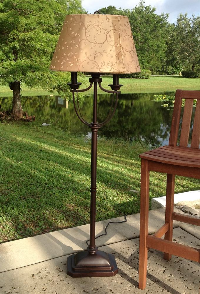 Kenroy Home Belmont Outdoor Floor Lamp - Modern Floor Lamp - Amazon.