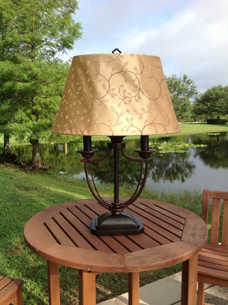 Kenroy Home Belmont Outdoor Table Lamp Outdoor Lamps For