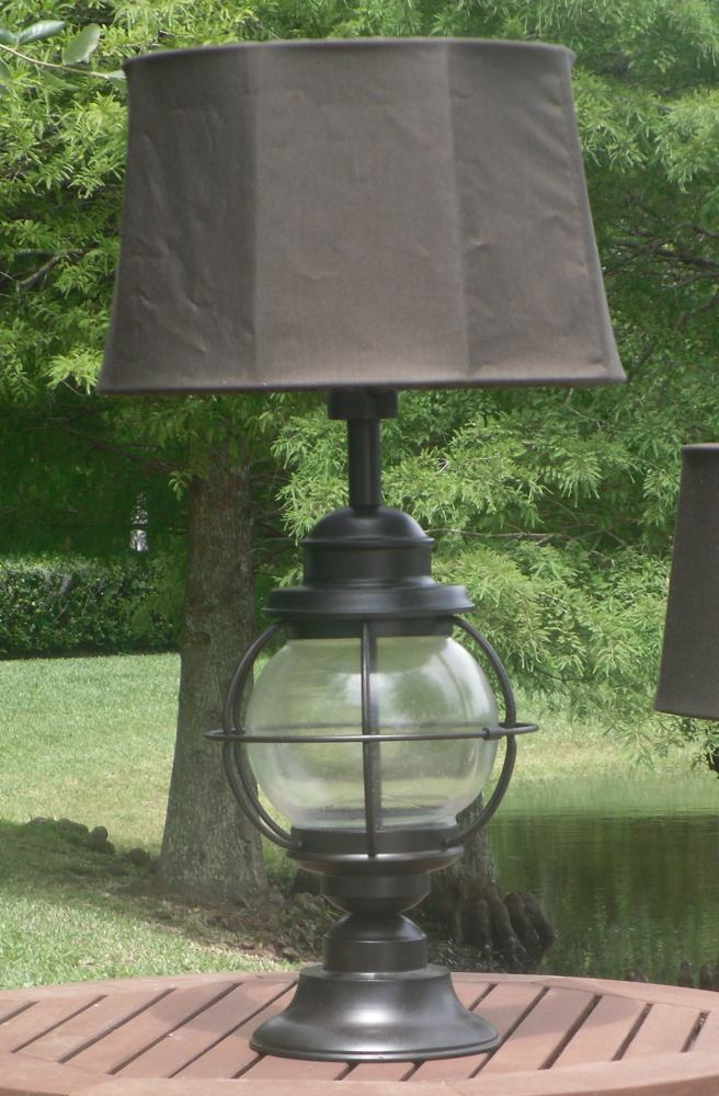 Amazon Com Kenroy Home Hatteras Outdoor Table Lamp Home