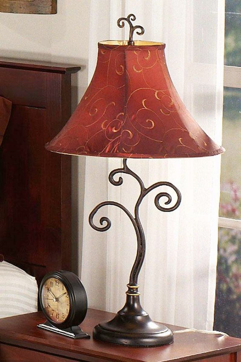 kenroy home richardson table lamp bronze floor lamp. Black Bedroom Furniture Sets. Home Design Ideas
