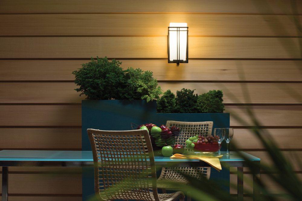 Kichler Lighting BK Tremillo 12 Inch Light Outdoor
