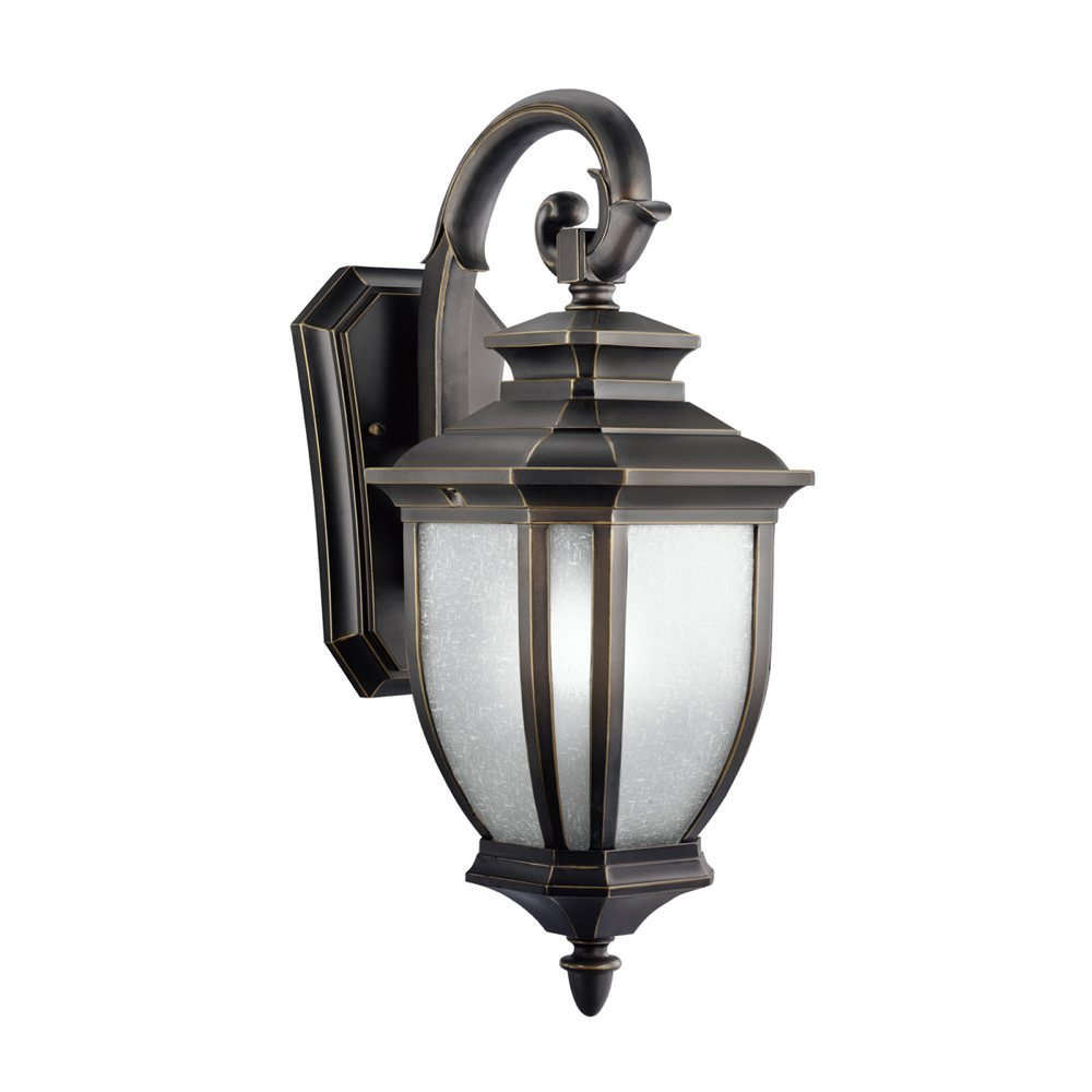kichler lighting 9040rz salisbury 1 light outdoor wall mount fixture. Black Bedroom Furniture Sets. Home Design Ideas