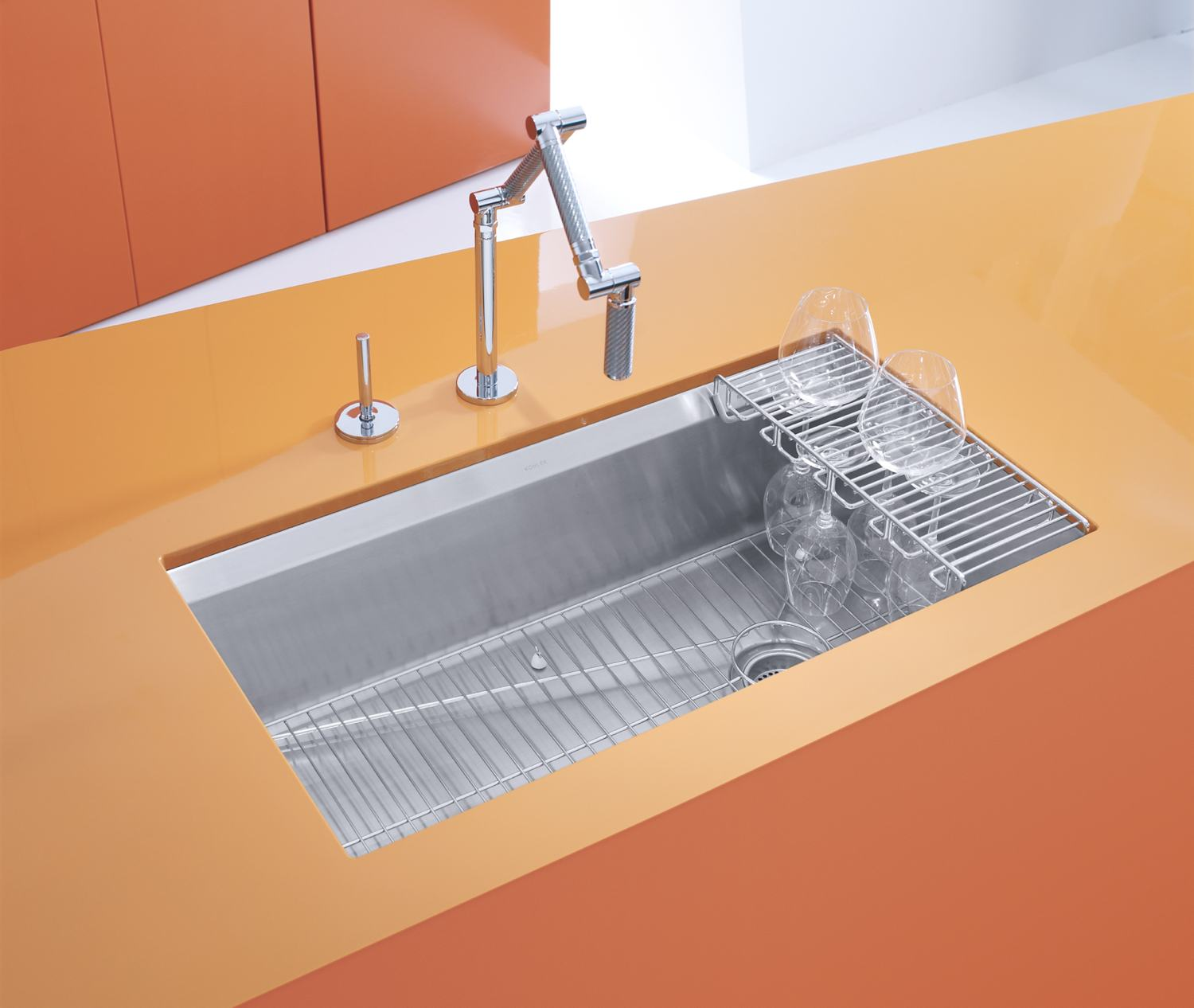 Huge Kitchen Sink : ... NA 8 Degree Large Single Kitchen Sink - Single Bowl Sinks - Amazon.com