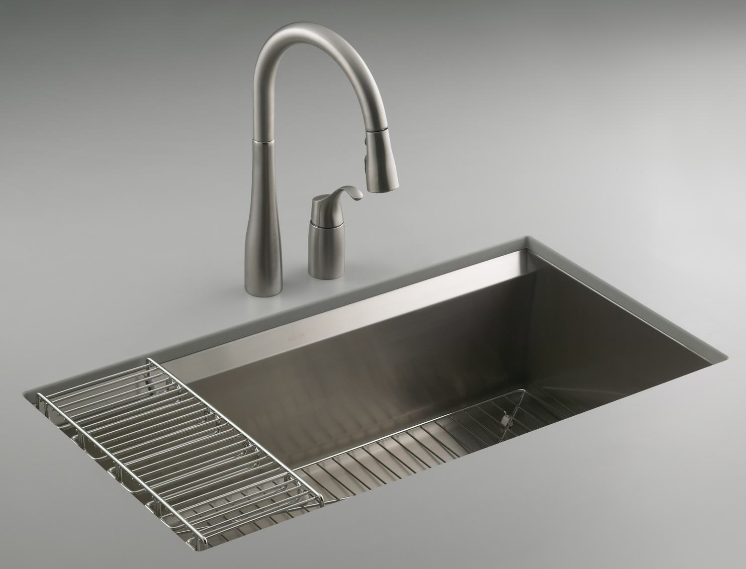 Large Kitchen Sinks Undermount : ... NA 8 Degree Large Single Kitchen Sink - Single Bowl Sinks - Amazon.com
