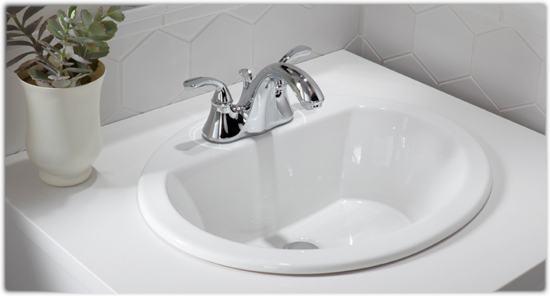 Kohler K 2699 4 0 Bryant Oval Self Rimming Bathroom Sink
