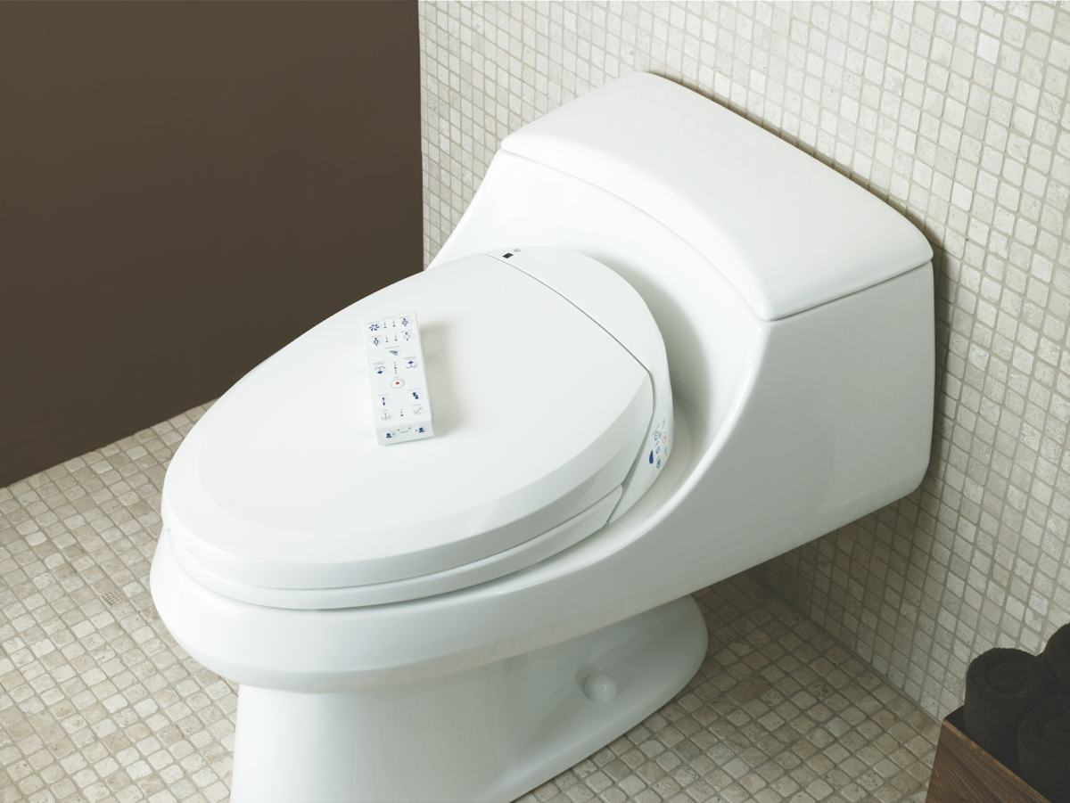 KOHLER K 4709 0 C3 200 Elongated Bidet Toilet Seat With In Line Heater And Re