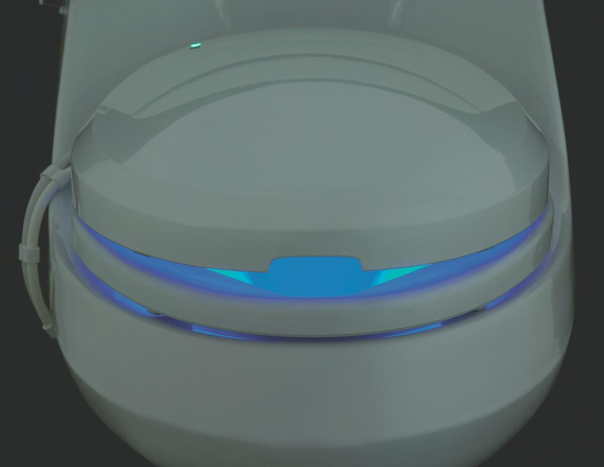 Kohler K 4709 0 C3 200 Elongated Toilet Seat With Bidet