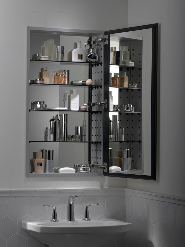 kohler k 2913 pg saa catalan mirrored cabinet with 107 hinge satin