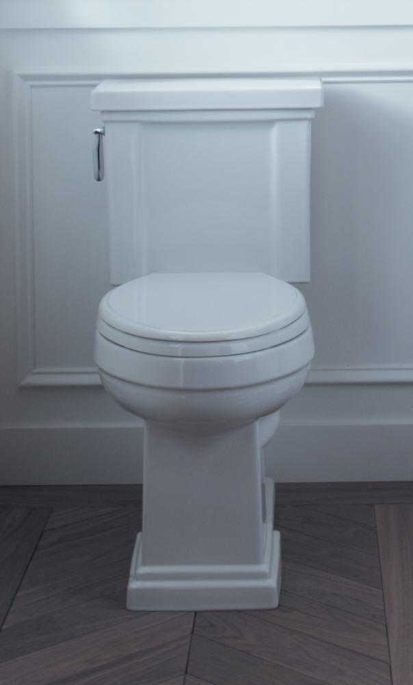 Kohlers Toilets : ... Toilet Seat, White - Kholer Glenbury Toilet Seat - Amazon.com