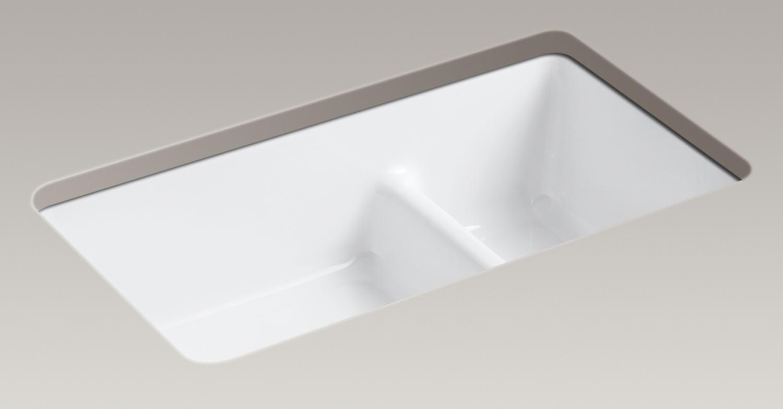 Kohler Porcelain Kitchen Sink Cleaning