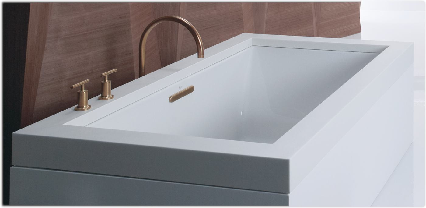 Underscore 6 foot tub for 4 foot bath tub