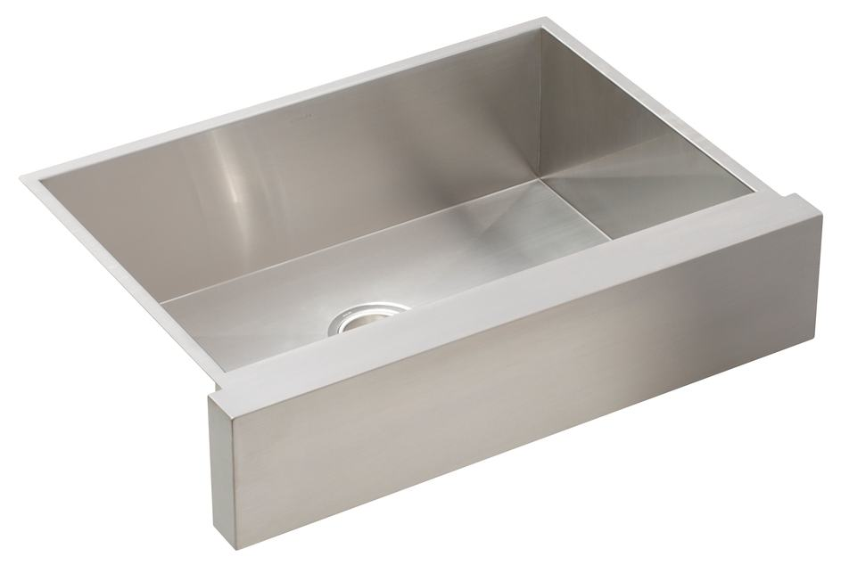 ... Sink with Shortened Apron-Front for 30-Inch Cabinet: Home Improvement