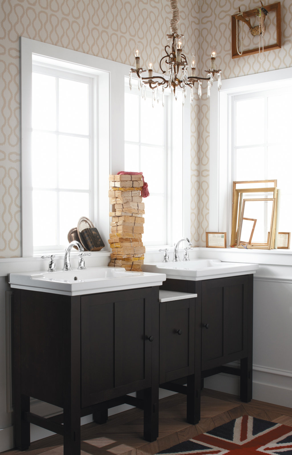 New Kohler K2489F41 Westmore Westwood Single Basin Bathroom Vanities