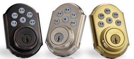 SmartCode single-cylinder deadbolt featuring SmartKey