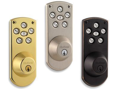 Powerbolt deadbolt with SmartKey finishes