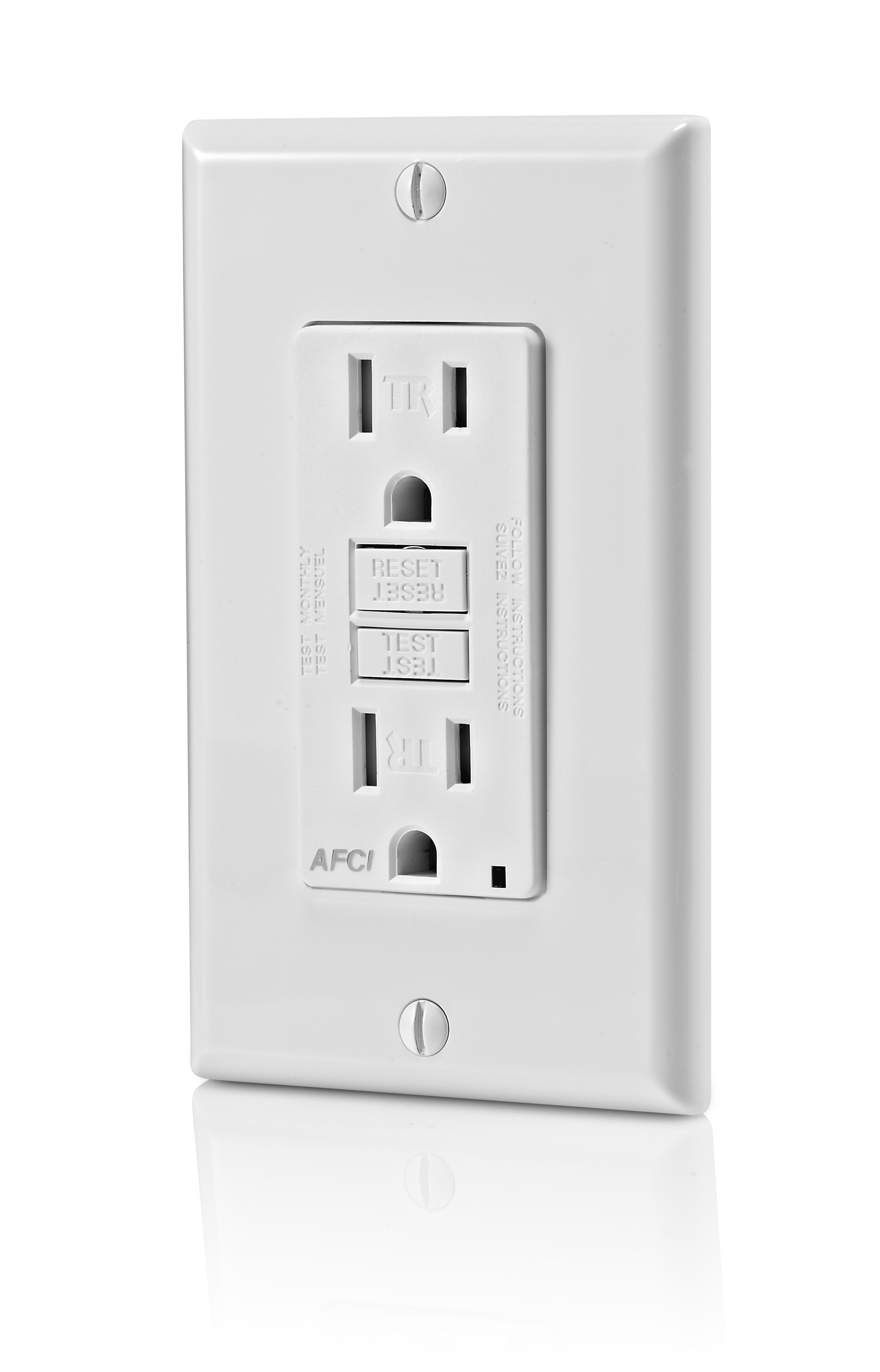 arc fault receptacle wiring with B00agyt7i6 on 536135 Wiring Kitchen Counter Outlets additionally Leviton Unveils Smartlockpro Dual Function Afci Gfci Receptacle 18386 besides Iec Symbol Reference moreover Arc Fault Circuit Interrupter Afci Receptacles 513 moreover 2418.