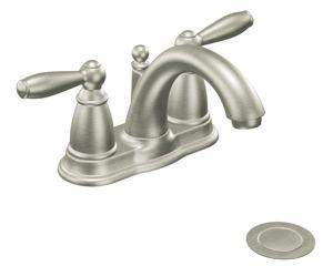 Brantford bathroom faucet brushed nickel