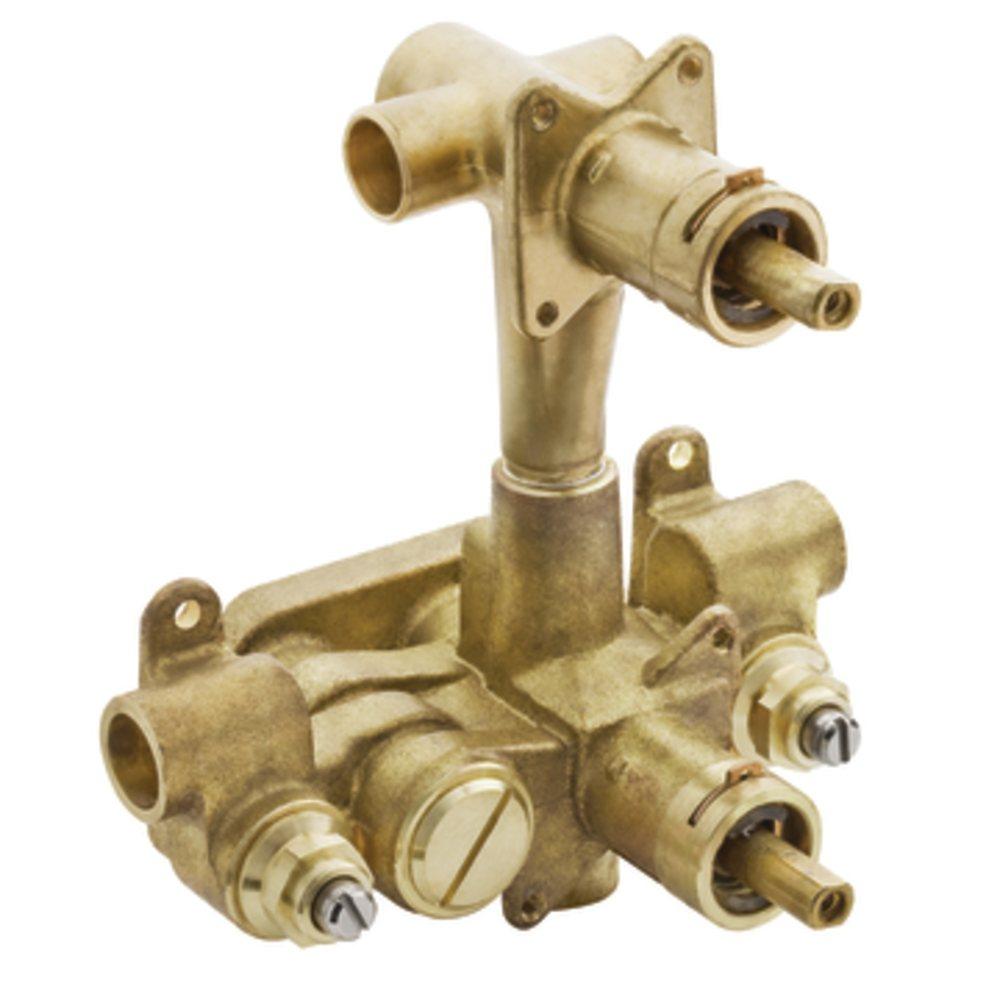 Moen 3330 M PACT 1 2 Inch CC Transfer Valve Faucet Valves