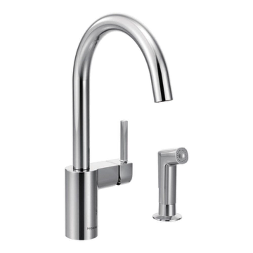 7165 chrome all copper kitchen faucet amazon com