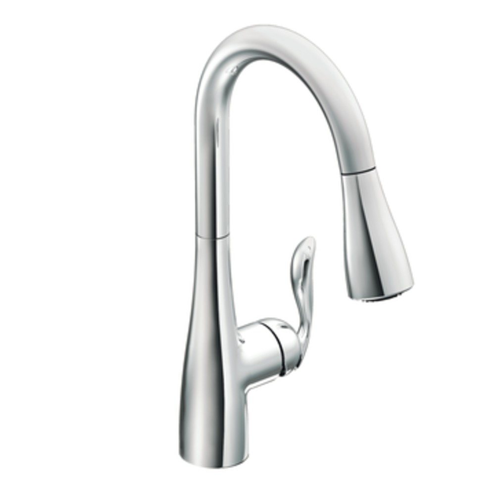 moen 7594c arbor one handle high arc pulldown