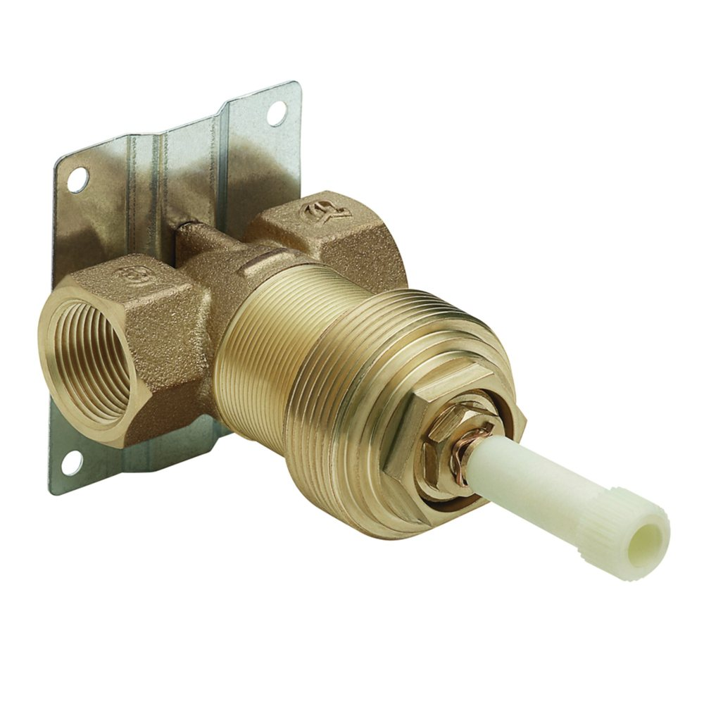 inch exacttemp volume control valve single handle tub and shower