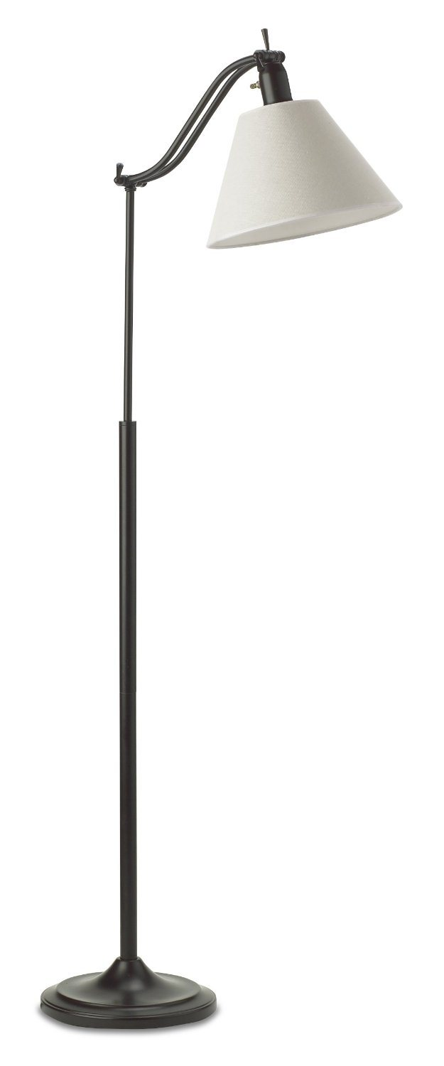 20 watt marietta floor lamp antiqued bronze ott light. Black Bedroom Furniture Sets. Home Design Ideas