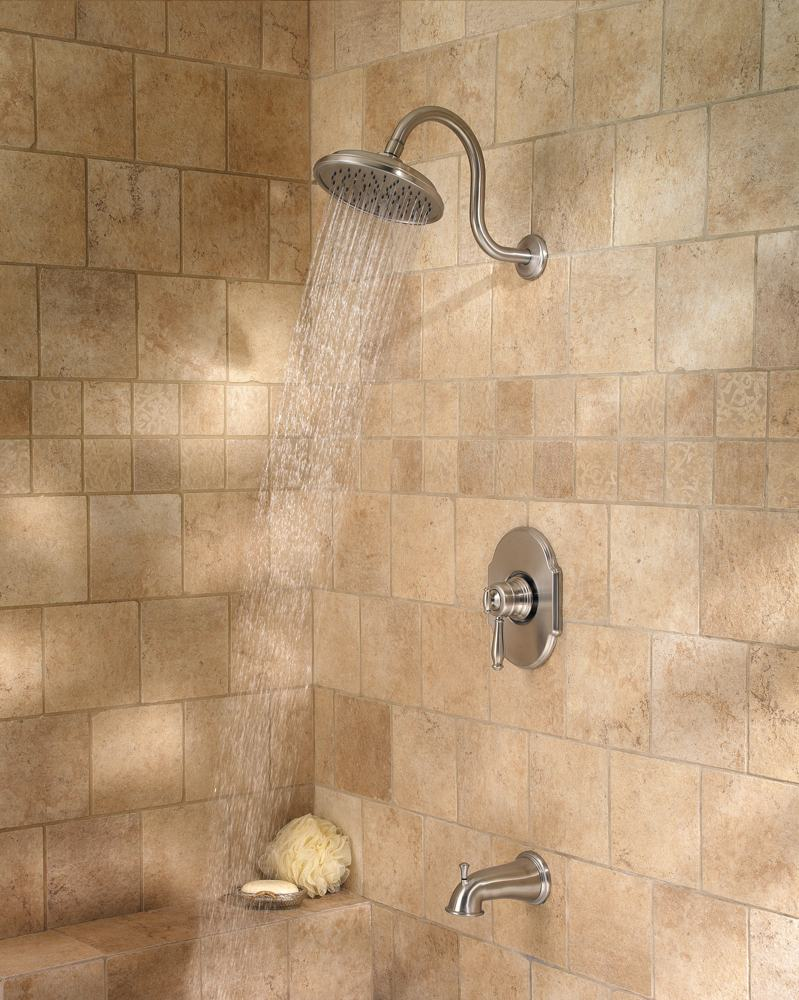 Pfister Hanover 1 Handle Tub Amp Shower Faucet Brushed
