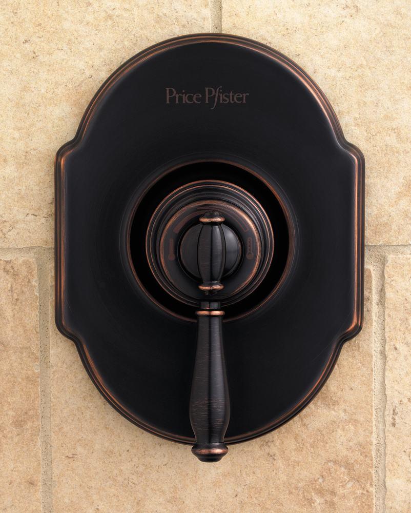 Pfister 808 TMYY Hanover Single Handle Tub/Shower Faucet, Tuscan Bronze