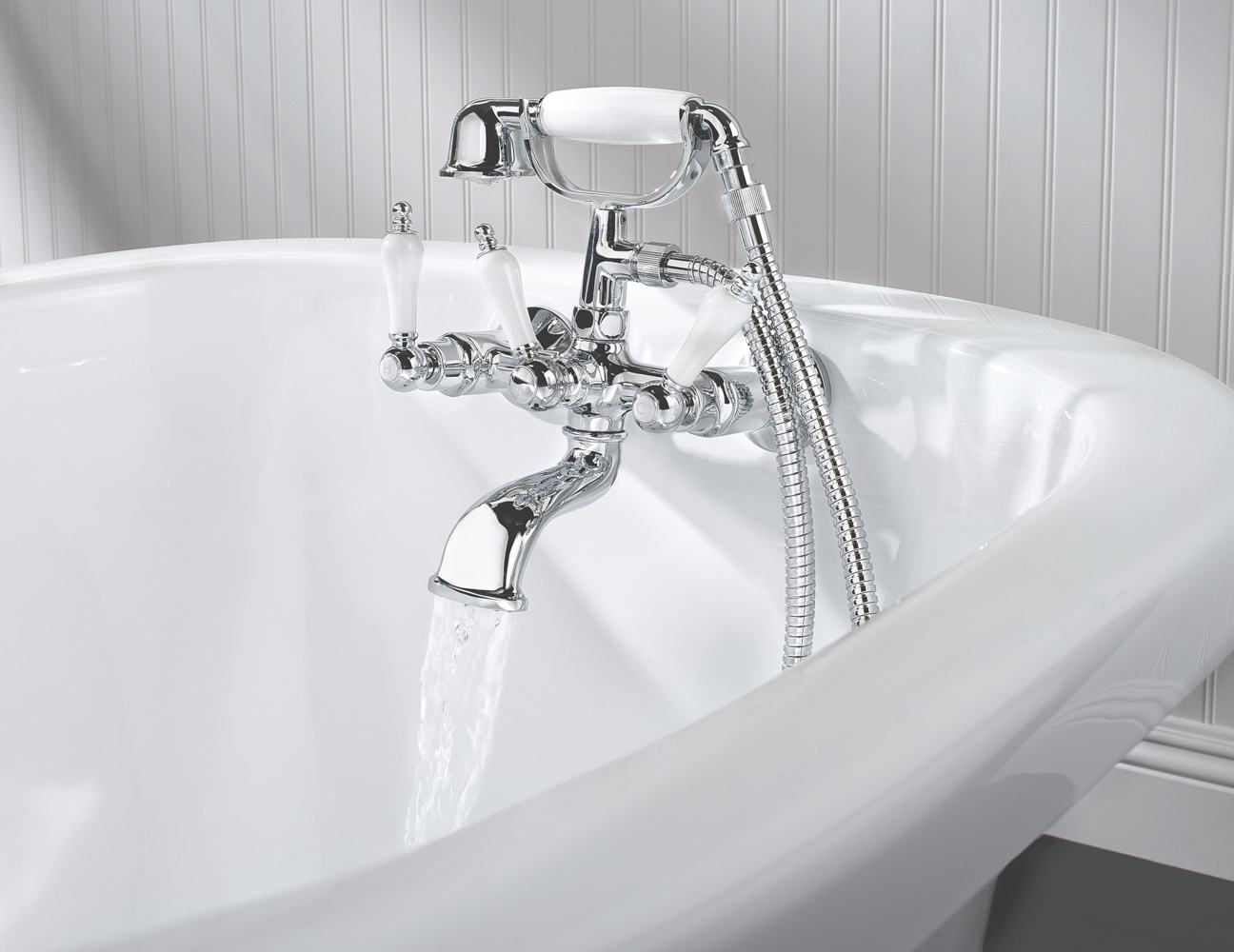 Tub Fixtures : Amazon.com: Pfister Savannah 3-Handle Tub & Shower Faucet with Metal ...