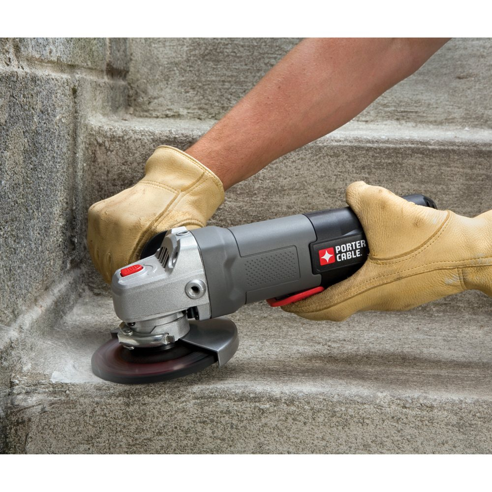 PORTER-CABLE PC60TPAG 7-Amp 4-1/2-Inch Angle Grinder/Cut