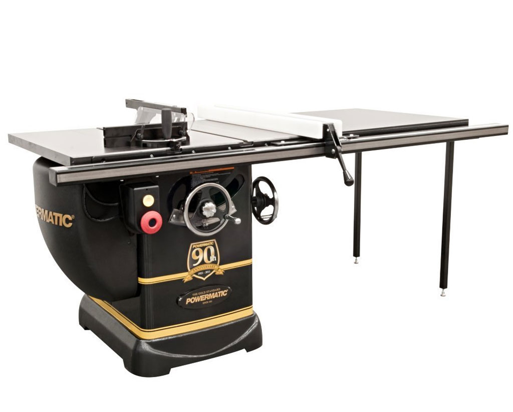 Powermatic Pm2000 90th Anniversary Black Onyx Limited Edition 3 Horsepower Table Saw Power