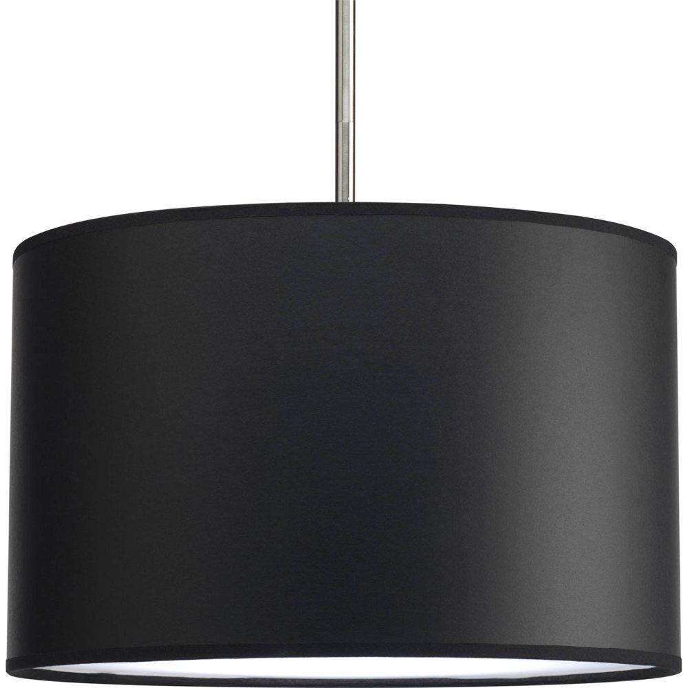Progress lighting p8822 01 modular pendant system choose shade and 1 light stem p5198 or 3 - Paper lighting fixtures ...