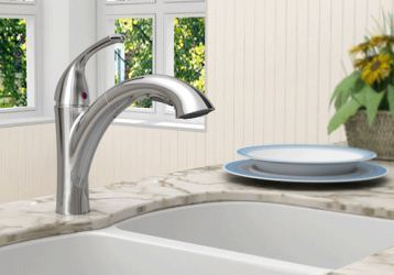 American Standard Quince pull-out faucet