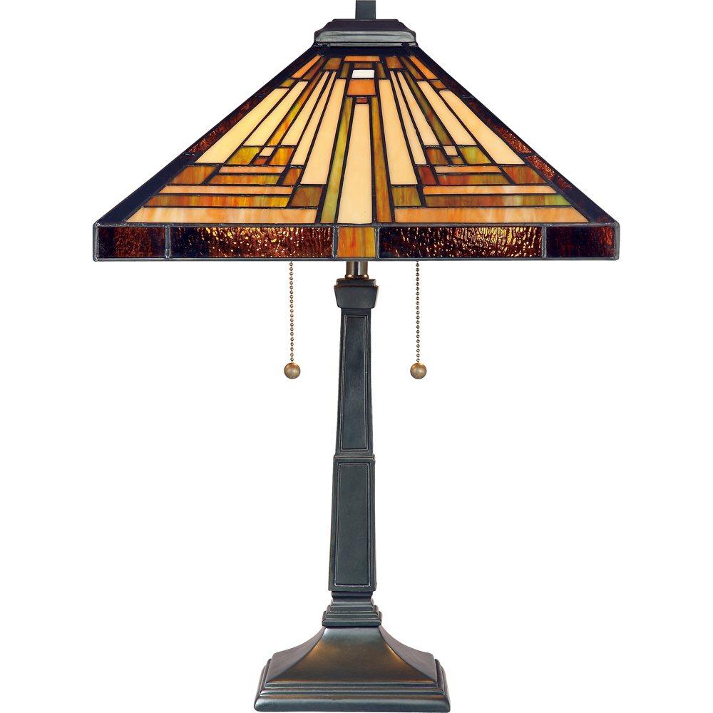tf885t stephen 2 light tiffany table lamp vintage bronze finish. Black Bedroom Furniture Sets. Home Design Ideas