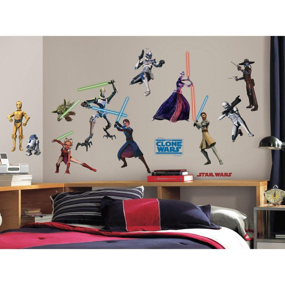 Roommates Wall Stickers : Roommates rmk scs star wars the clone
