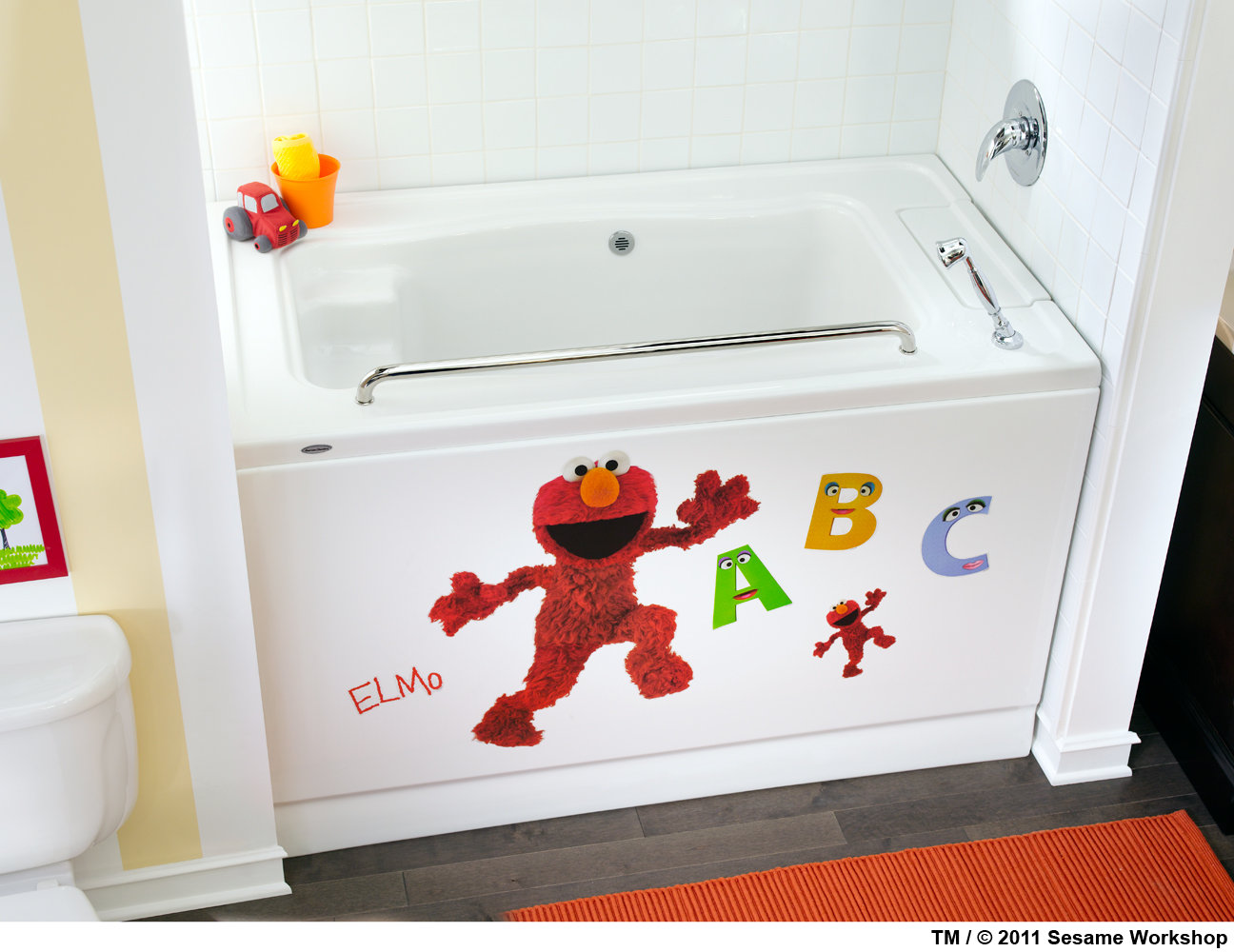 Amazon.com: American Standard STKR.004 Elmo Decal Set by Roomates
