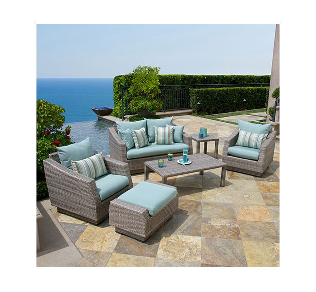 table patio furniture set slate gray patio lawn garden