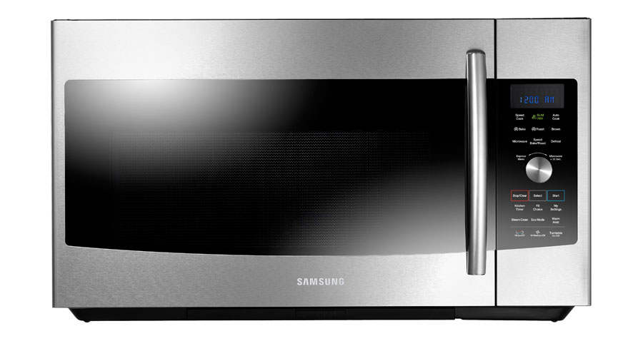 Samsung convection microwave does quadruple duty as a convection oven ...