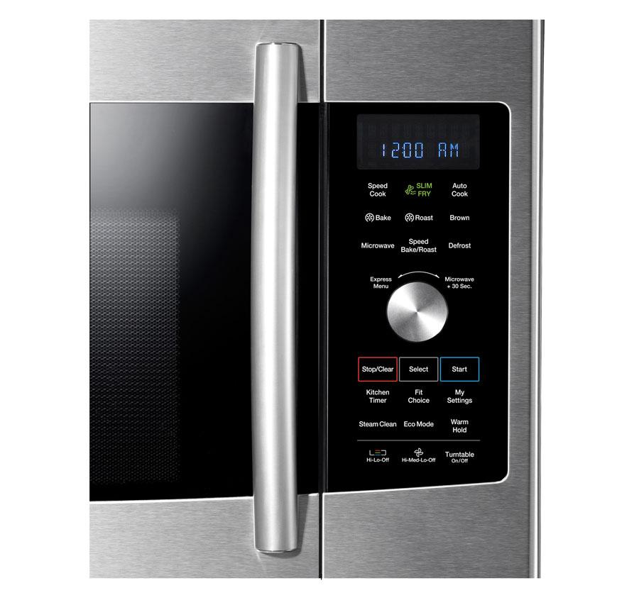 Samsung MC17F808KDT Over-The-Range Convection Microwave, 1.7 Cubic