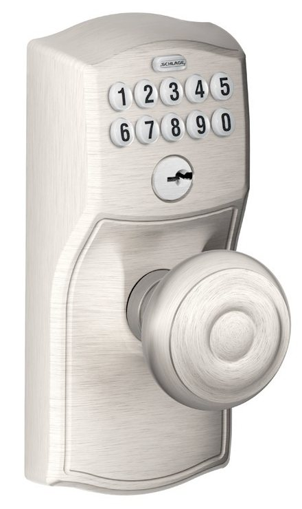 Amazon Com Schlage Fe576 Cam 716 Geo Cam Built In Alarm