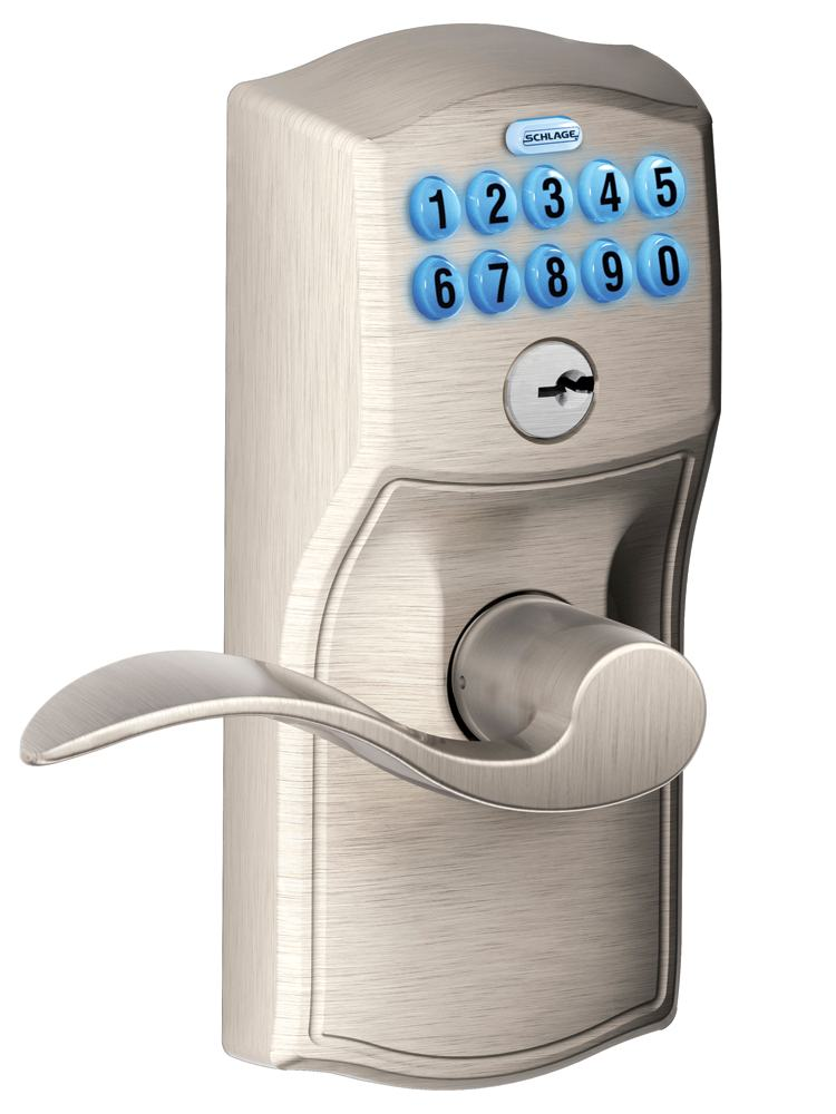Schlage Fe599nx Cam 619 Acc 619 Home Keypad Lever With Z