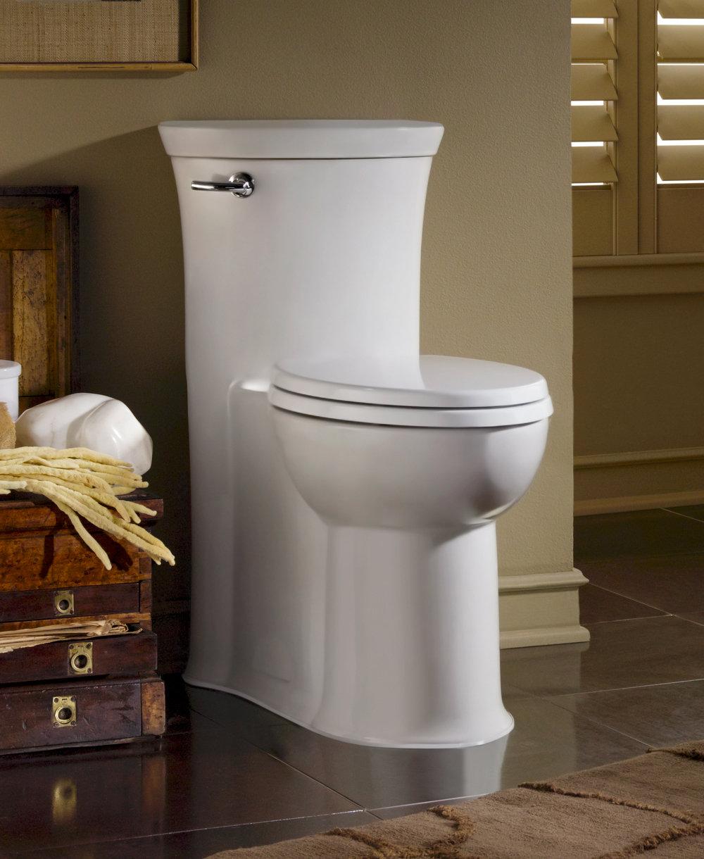 American Standard Toilets : American Standard 2786.128.020 Tropic RH Elongated One Piece Flowise ...