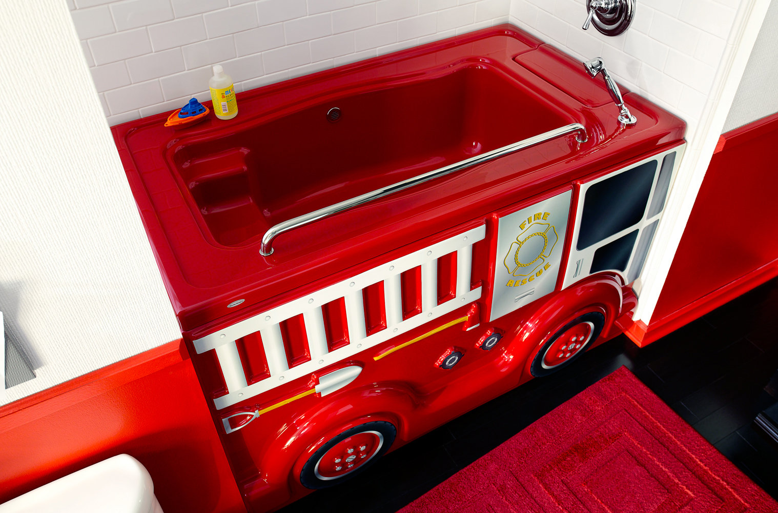 American Standard KT.001.024 Fierce Fire Truck Design